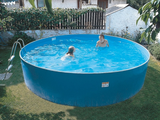 Collapsible pools Azuro 300A | Prefabricated swimming pools ...